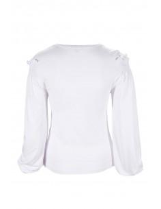 Denny Rose Camiseta con Chaleco Estampado