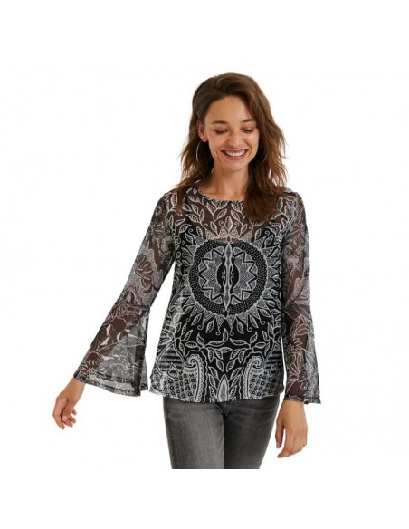 Camiseta Desigual Mandalas Dijon